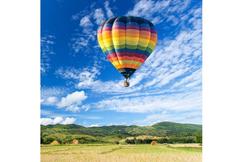 VOLO IN MONGOLFIERA IN UMBRIA